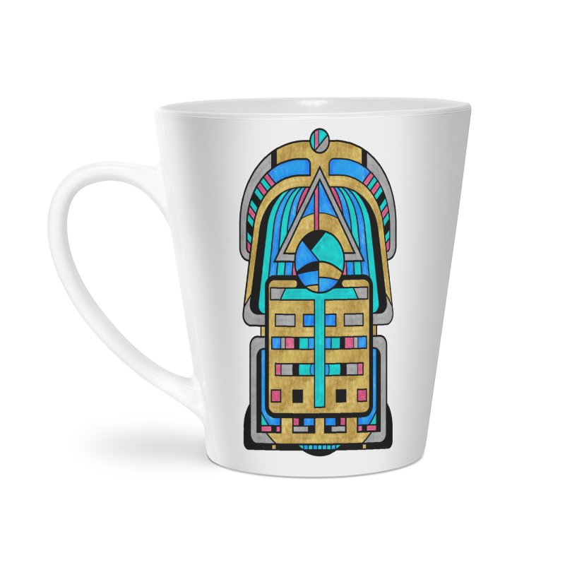 Scarabesque - Digital Art Deco Design Accessories Mug by RML Studios: The Art & Design of Ryan Livingston
