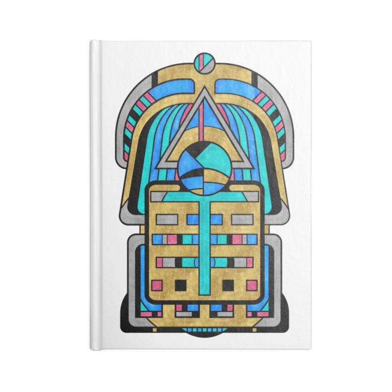 Scarabesque - Digital Art Deco Design Accessories Notebook by RML Studios: The Art & Design of Ryan Livingston