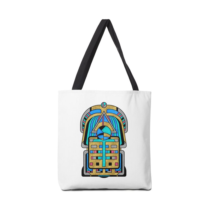 Scarabesque - Digital Art Deco Design Accessories Bag by RML Studios: The Art & Design of Ryan Livingston
