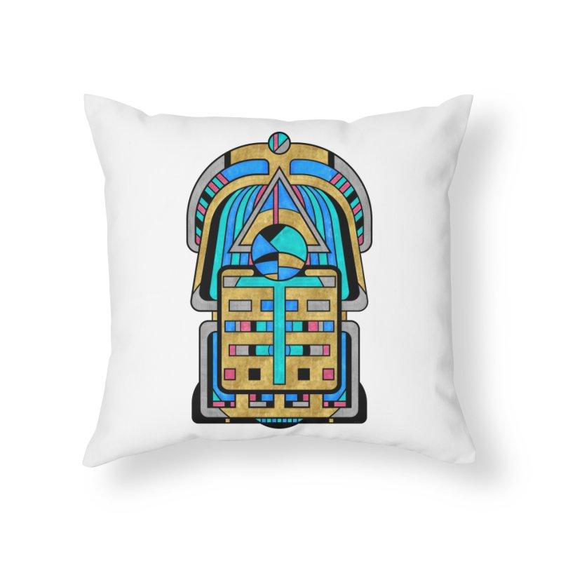 Scarabesque - Digital Art Deco Design Home Throw Pillow by RML Studios: The Art & Design of Ryan Livingston