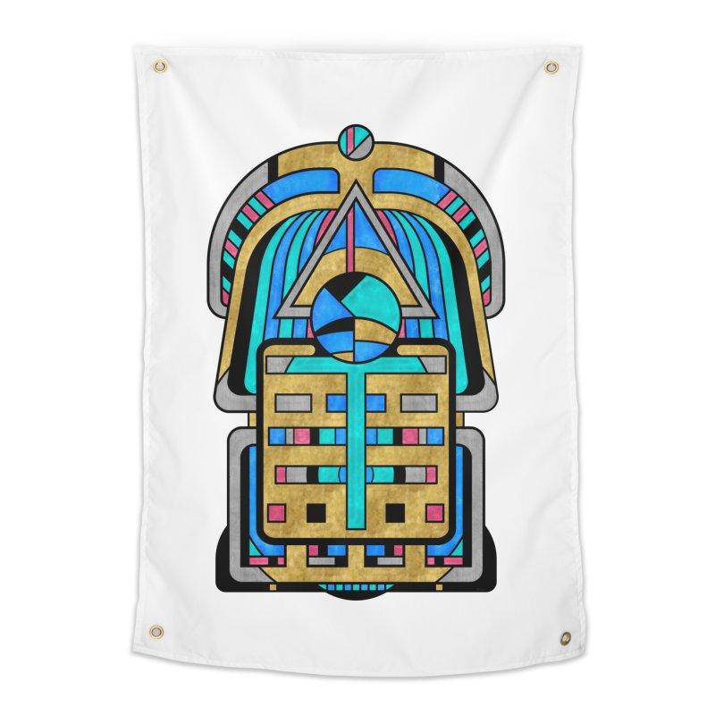 Scarabesque - Digital Art Deco Design Home Tapestry by RML Studios: The Art & Design of Ryan Livingston