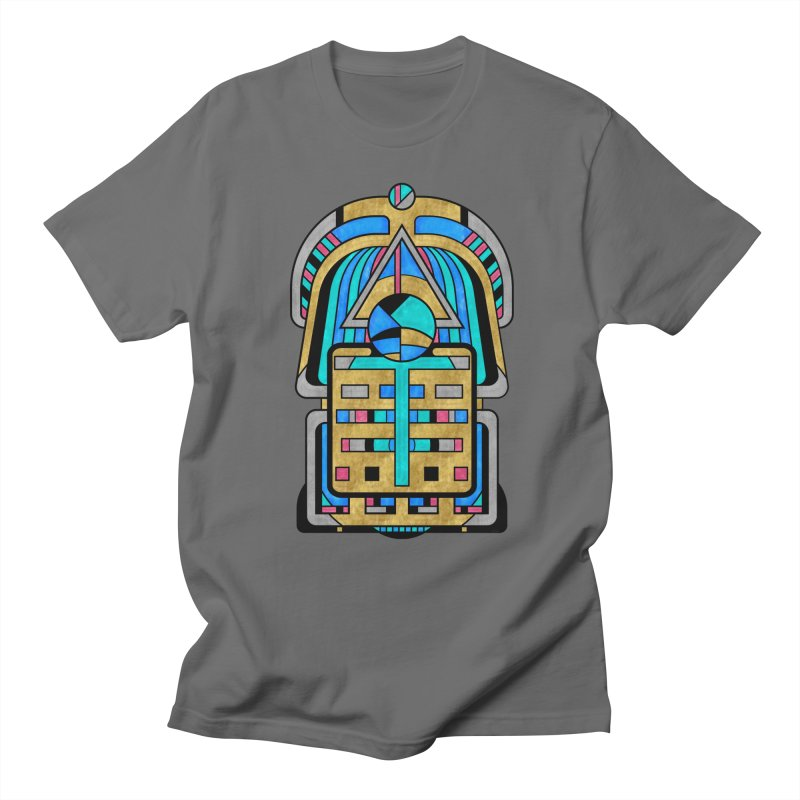 Scarabesque - Digital Art Deco Design Men's T-Shirt by RML Studios: The Art & Design of Ryan Livingston