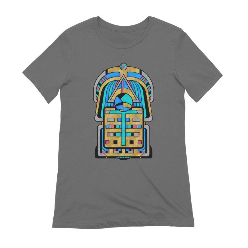 Scarabesque - Digital Art Deco Design Women's T-Shirt by RML Studios: The Art & Design of Ryan Livingston