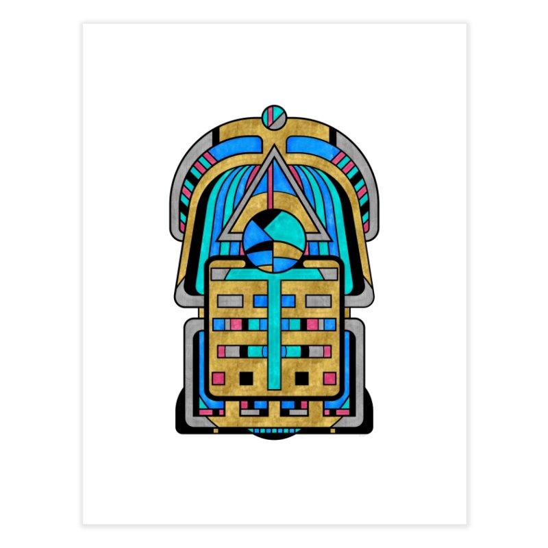 Scarabesque - Digital Art Deco Design Home Fine Art Print by RML Studios: The Art & Design of Ryan Livingston