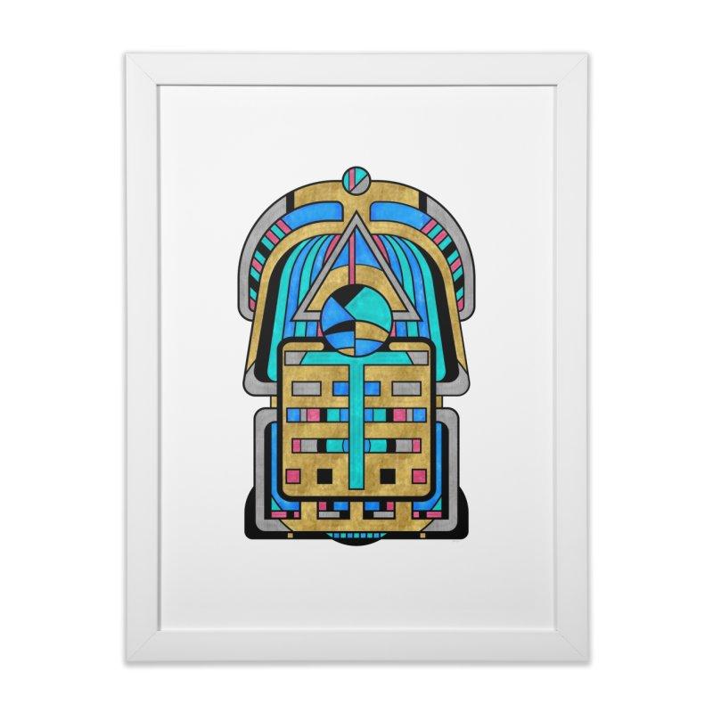 Scarabesque - Digital Art Deco Design Home Framed Fine Art Print by RML Studios: The Art & Design of Ryan Livingston