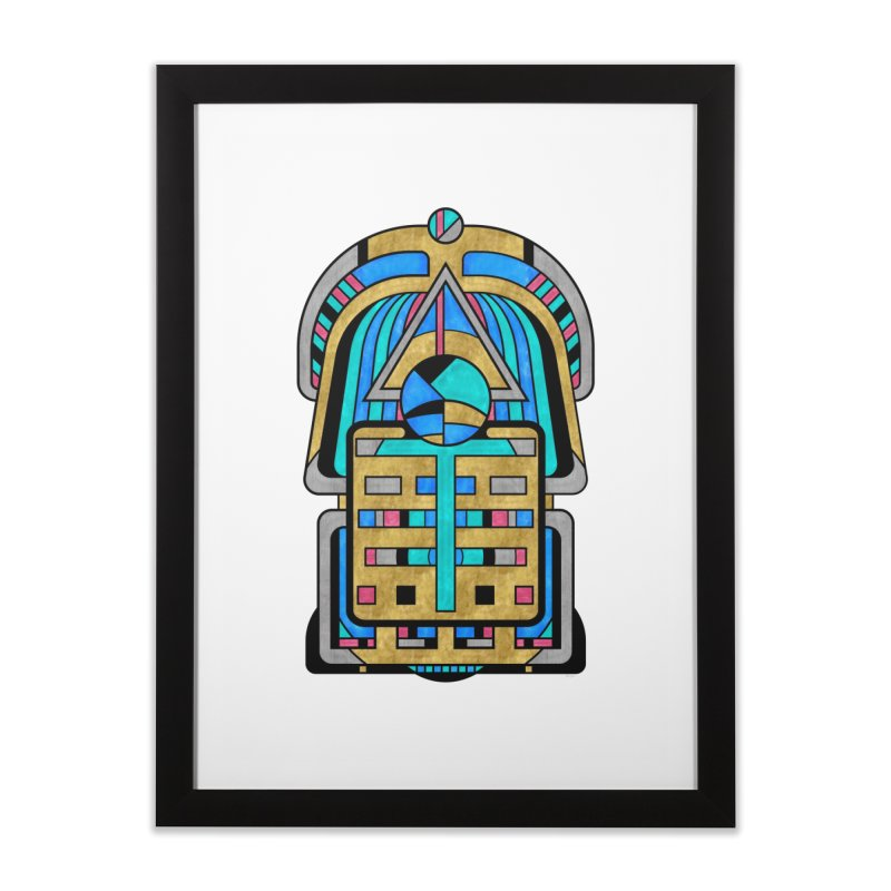 Scarabesque - Digital Art Deco Design Home Framed Fine Art Print by RML Studios: The Art & Design of Ryan Livingston