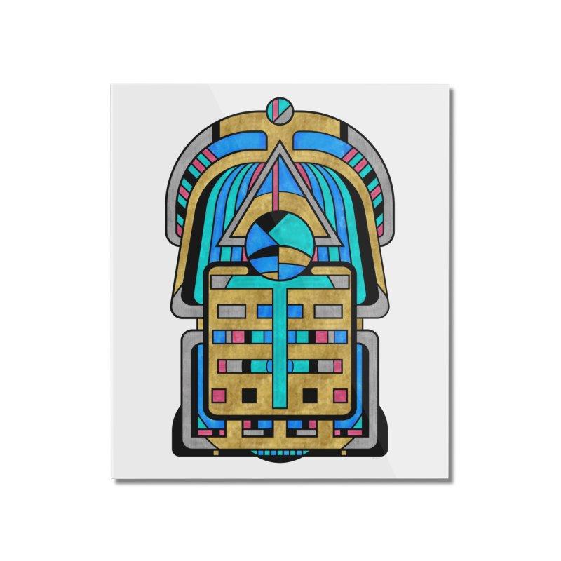 Scarabesque - Digital Art Deco Design Home Mounted Acrylic Print by RML Studios: The Art & Design of Ryan Livingston