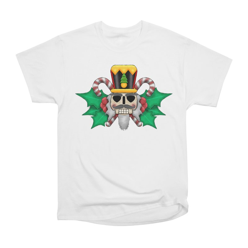 Nutcracker Skull Women's T-Shirt by RML Studios: The Art & Design of Ryan Livingston
