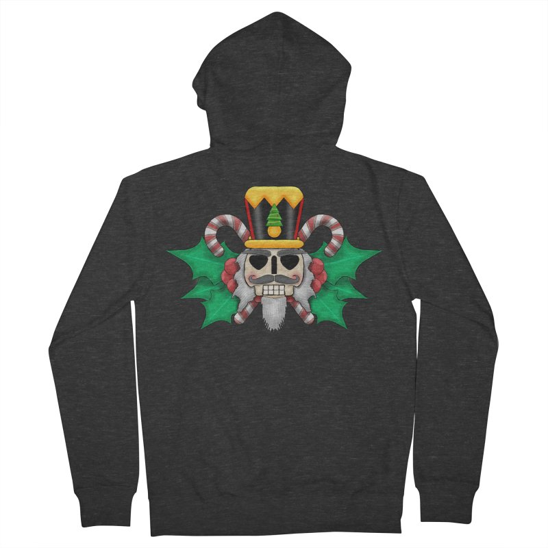 Nutcracker Skull Men's Zip-Up Hoody by RML Studios: The Art & Design of Ryan Livingston