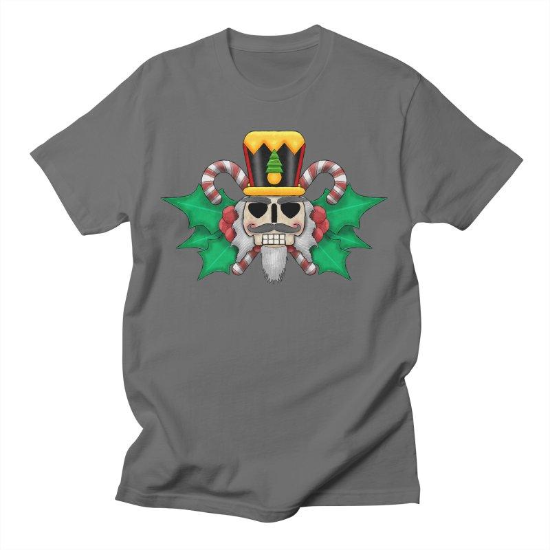 Nutcracker Skull Men's T-Shirt by RML Studios: The Art & Design of Ryan Livingston