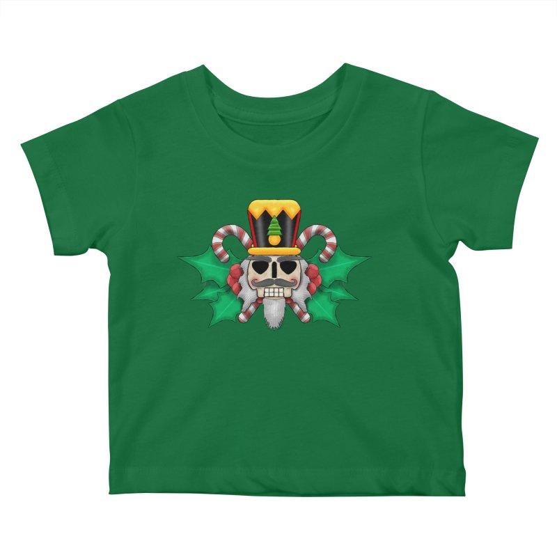 Nutcracker Skull Kids Baby T-Shirt by RML Studios: The Art & Design of Ryan Livingston