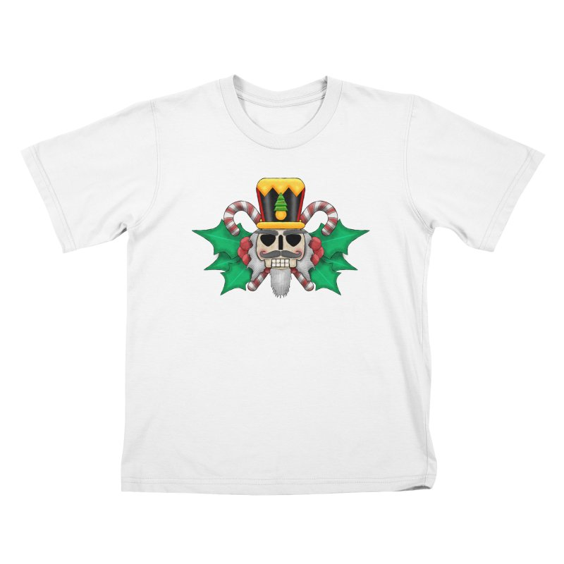 Nutcracker Skull Kids T-Shirt by RML Studios: The Art & Design of Ryan Livingston