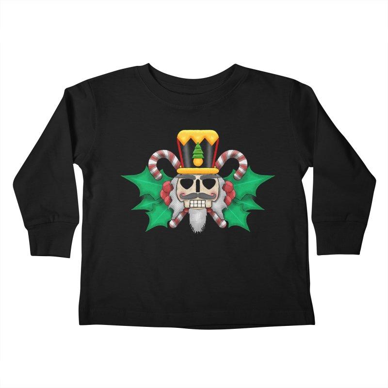 Nutcracker Skull Kids Toddler Longsleeve T-Shirt by RML Studios: The Art & Design of Ryan Livingston