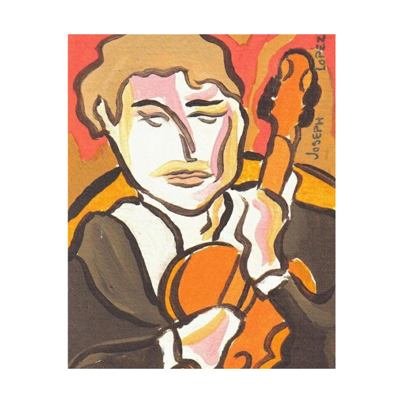The Violin Home Rug by RNF's Artist Shop