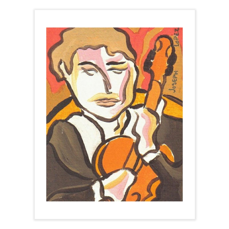 The Violin Home Fine Art Print by RNF's Artist Shop
