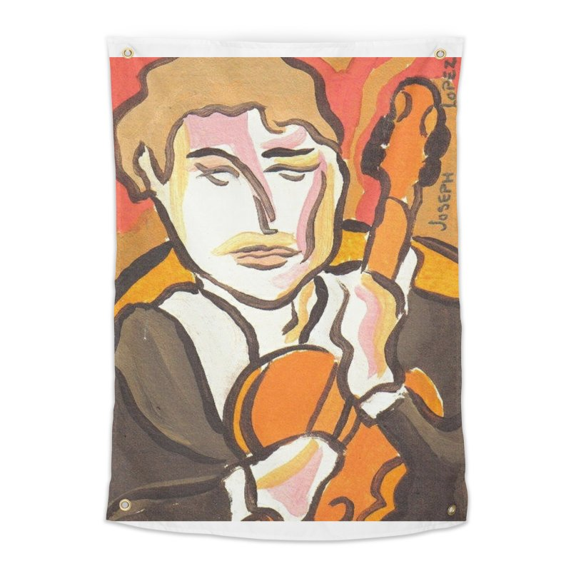 The Violin Home Tapestry by RNF's Artist Shop