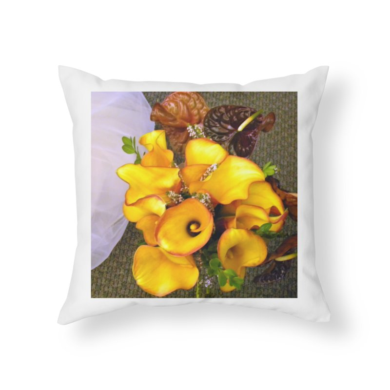 At the Wedding Home Throw Pillow by RNF's Artist Shop