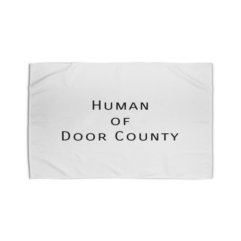 Human of Door County Home Rug by RNF's Artist Shop