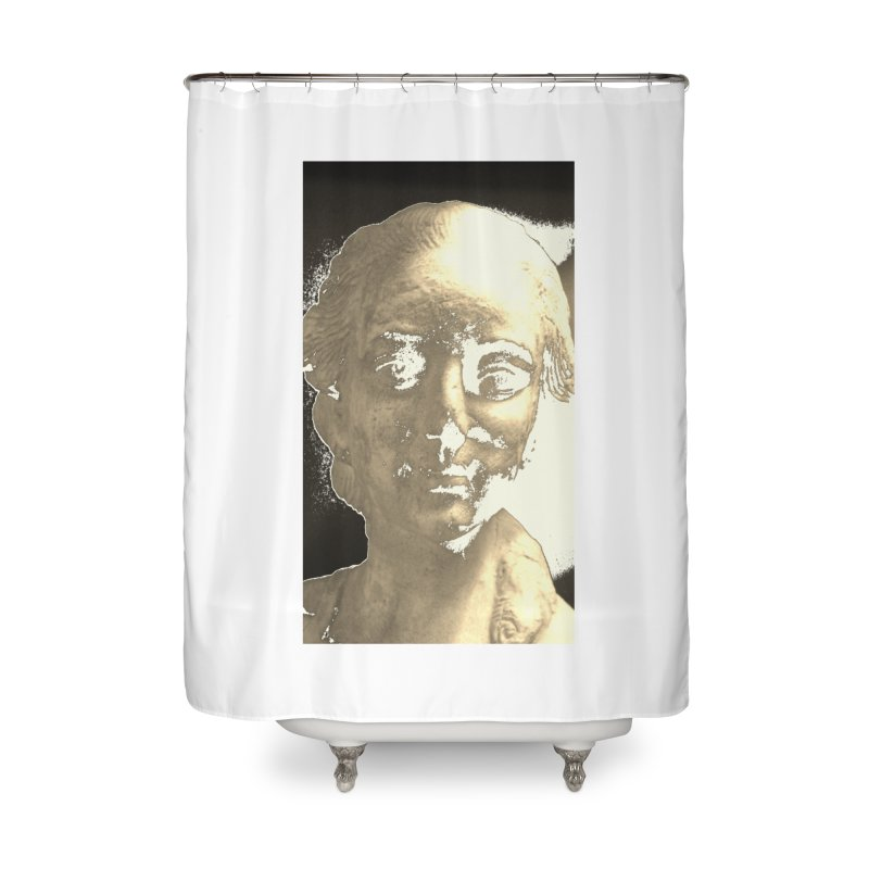 Sculpted Home Shower Curtain by RNF's Artist Shop