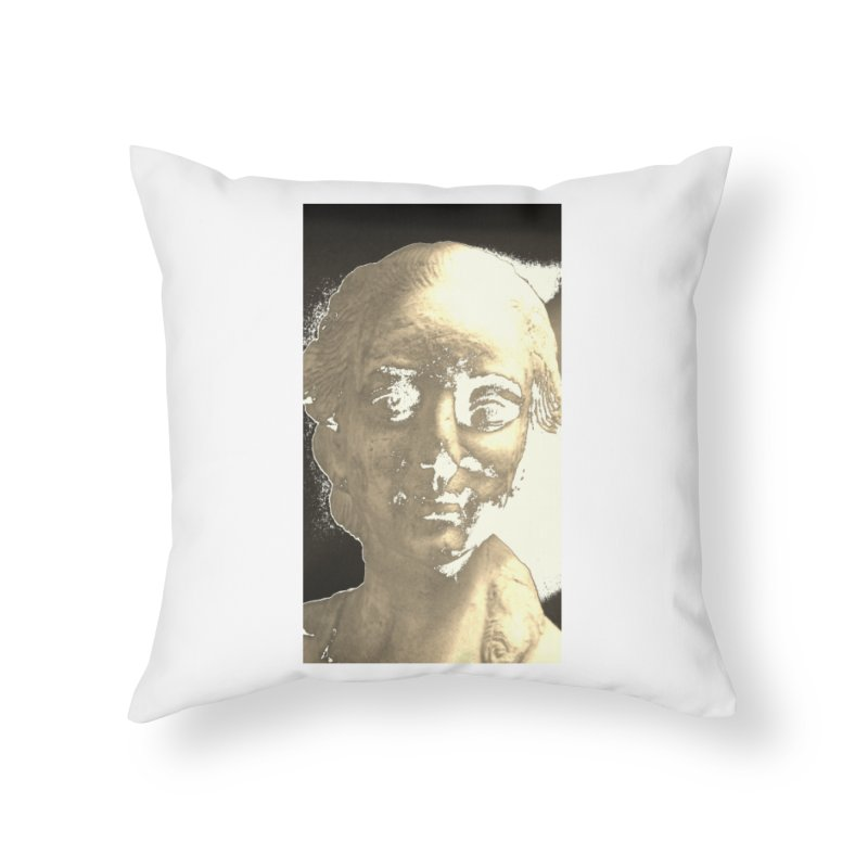 Sculpted Home Throw Pillow by RNF's Artist Shop