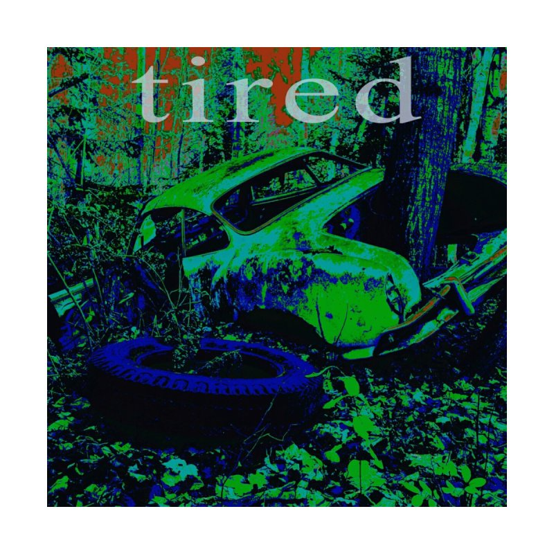 Tired Home Rug by RNF's Artist Shop