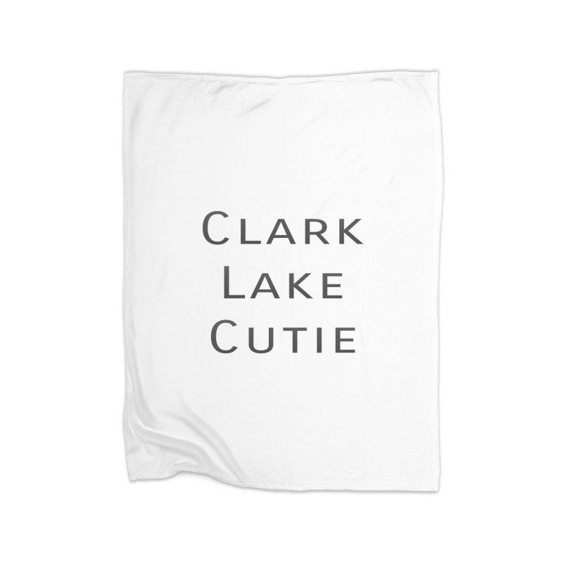 Clark Lake Cutie Home Blanket by RNF's Artist Shop