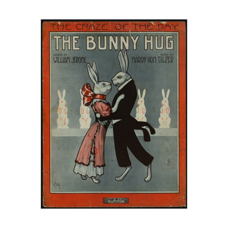 Bunny Hug Men's T-Shirt by RNF's Artist Shop