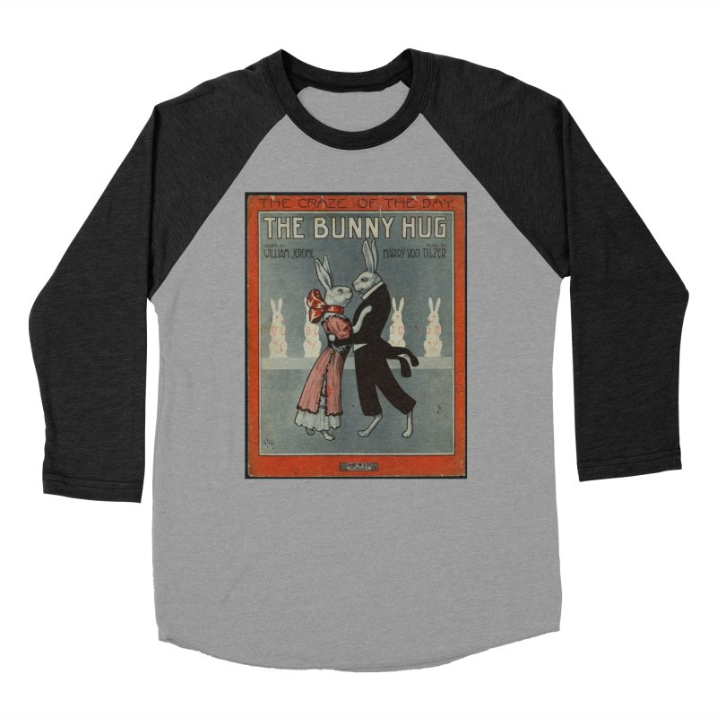Bunny Hug Men's Baseball Triblend Longsleeve T-Shirt by RNF's Artist Shop