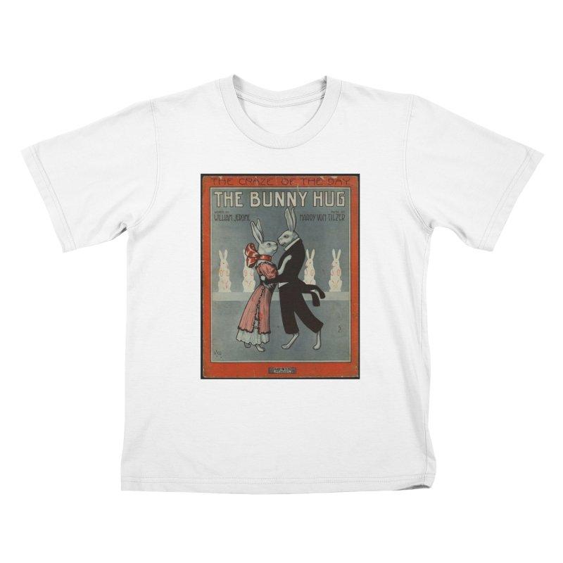Bunny Hug Kids T-Shirt by RNF's Artist Shop