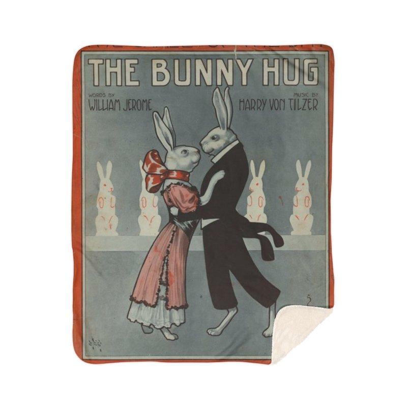 Bunny Hug Home Blanket by RNF's Artist Shop