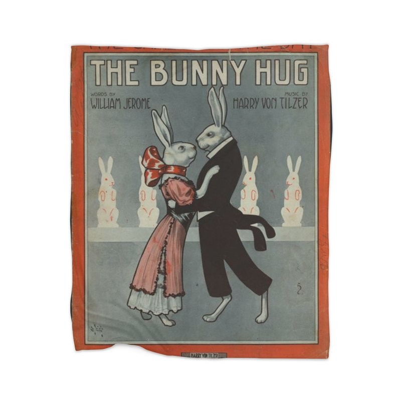 Bunny Hug Home Blanket by RNF's Artist Shop