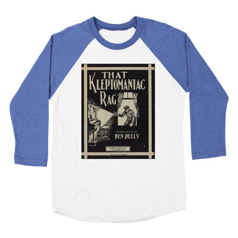 Klepto Men's Baseball Triblend Longsleeve T-Shirt by RNF's Artist Shop