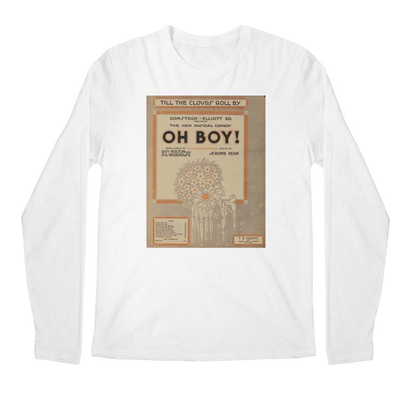 Oh Boy Men's Regular Longsleeve T-Shirt by RNF's Artist Shop
