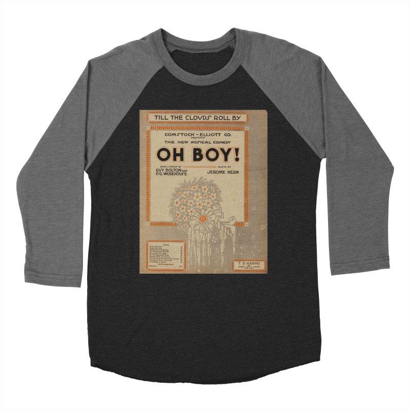Oh Boy Men's Baseball Triblend Longsleeve T-Shirt by RNF's Artist Shop