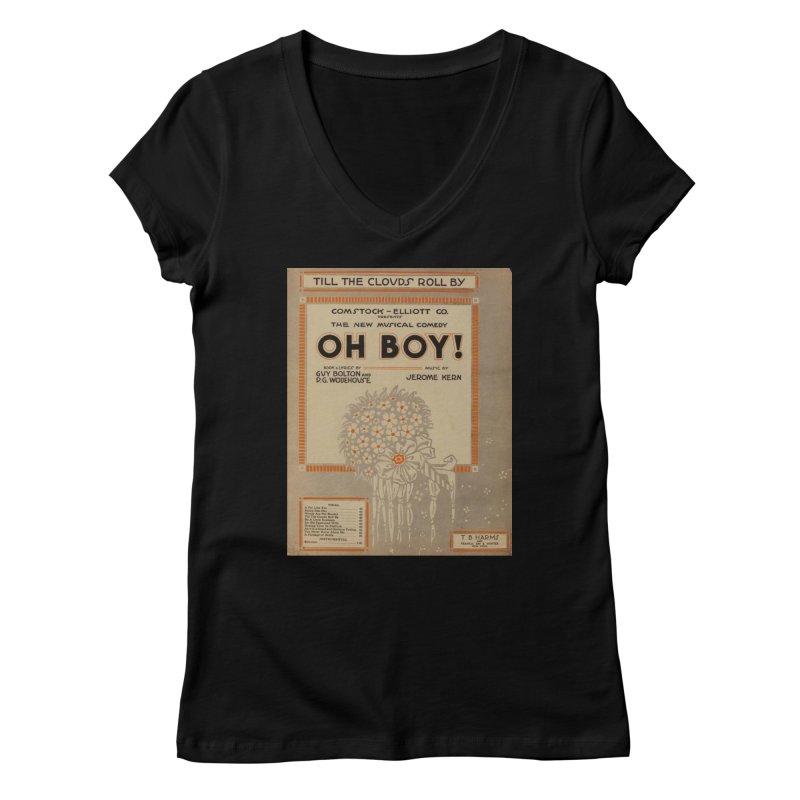 Oh Boy Women's V-Neck by RNF's Artist Shop