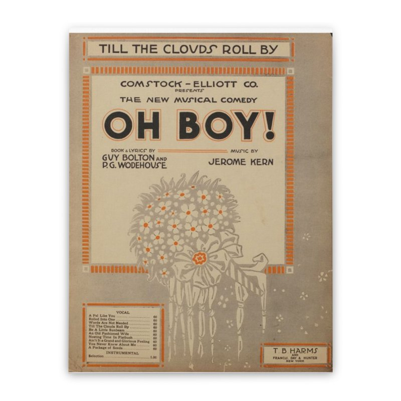 Oh Boy Home Stretched Canvas by RNF's Artist Shop
