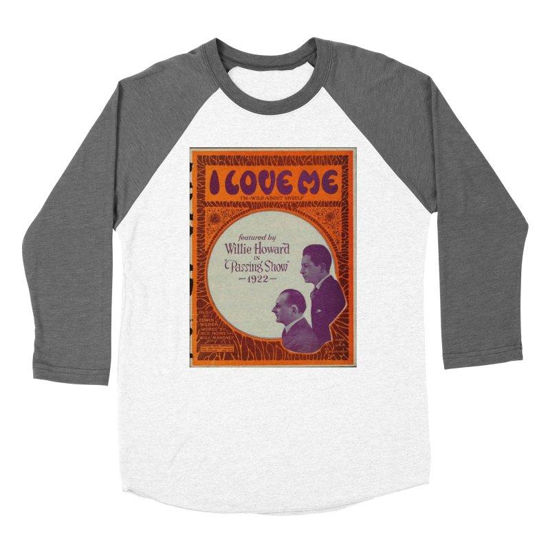 I Love Me Men's Baseball Triblend Longsleeve T-Shirt by RNF's Artist Shop