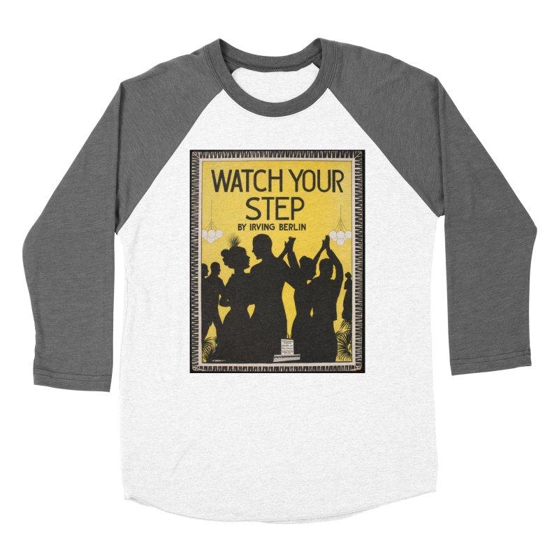 Watch Your Step Men's Baseball Triblend Longsleeve T-Shirt by RNF's Artist Shop