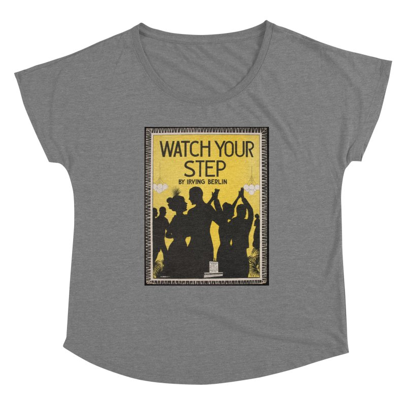 Watch Your Step Women's Scoop Neck by RNF's Artist Shop