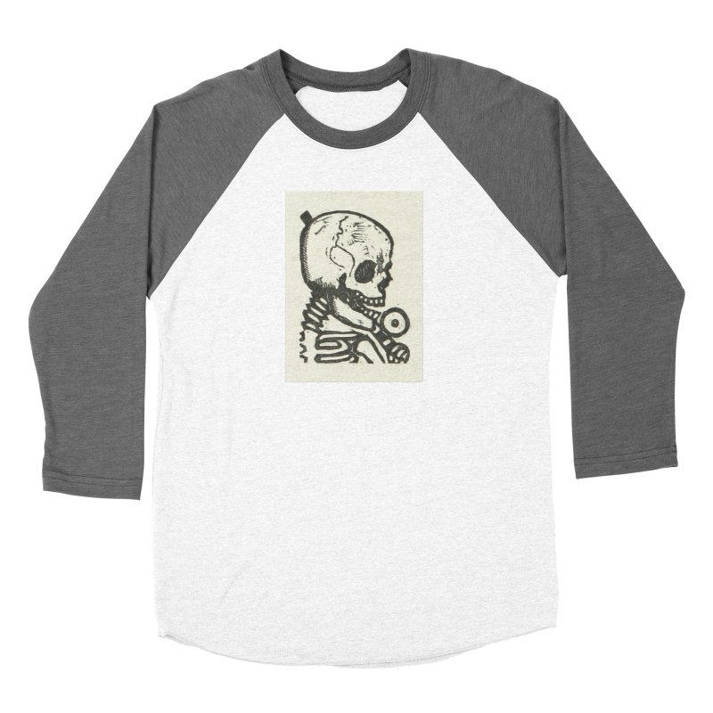 Skeleton Women's Baseball Triblend Longsleeve T-Shirt by RNF's Artist Shop