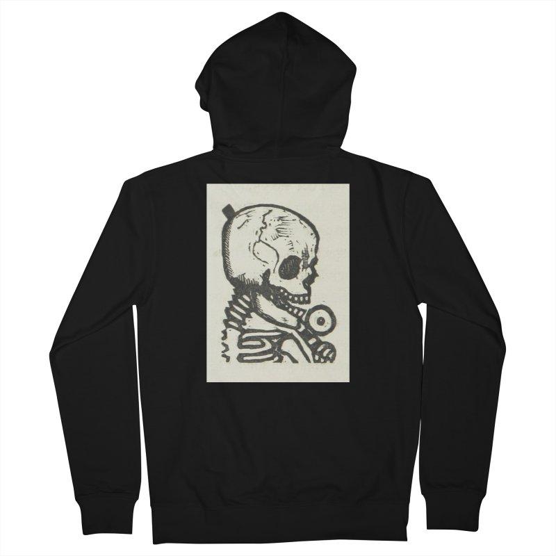 Skeleton Men's Zip-Up Hoody by RNF's Artist Shop