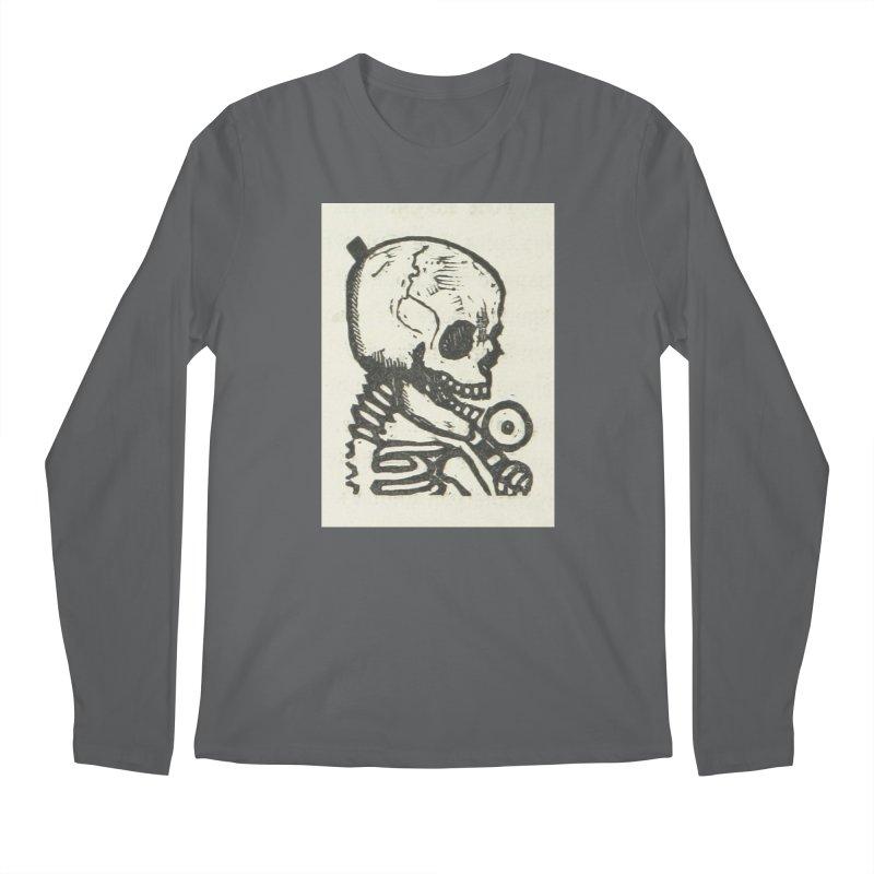Skeleton Men's Longsleeve T-Shirt by RNF's Artist Shop