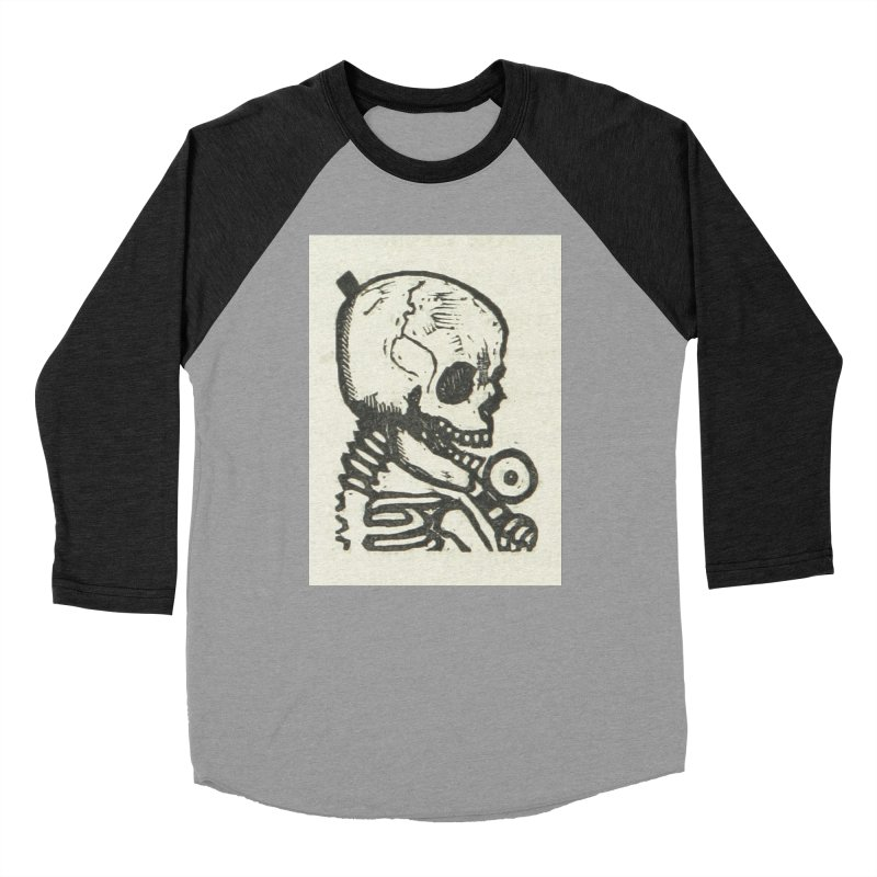 Skeleton Men's Baseball Triblend Longsleeve T-Shirt by RNF's Artist Shop