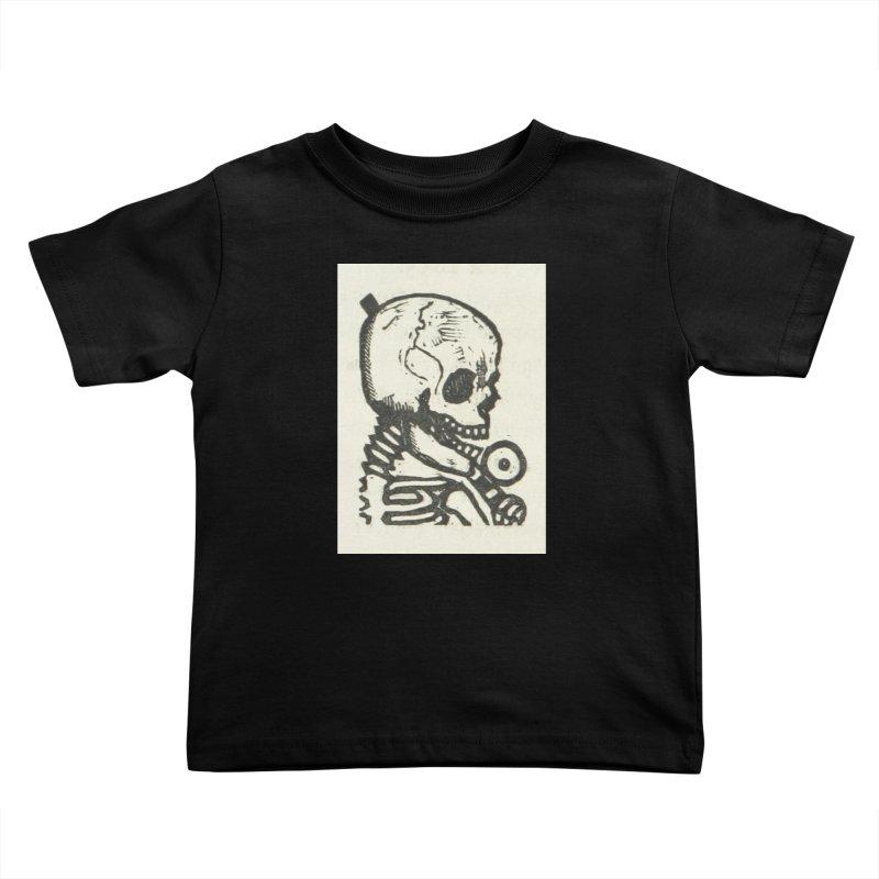Skeleton Kids Toddler T-Shirt by RNF's Artist Shop