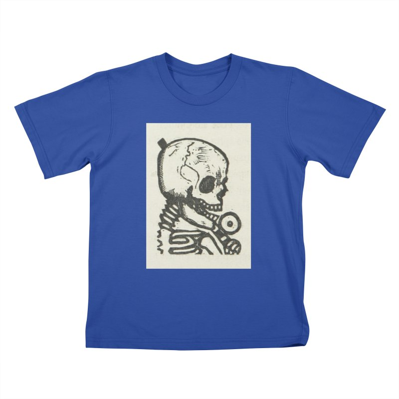 Skeleton Kids T-Shirt by RNF's Artist Shop