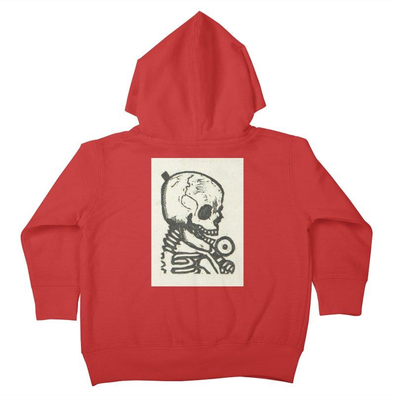 Skeleton Kids Toddler Zip-Up Hoody by RNF's Artist Shop