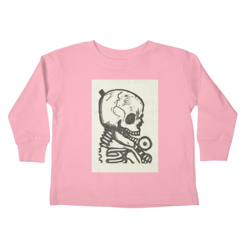 Skeleton Kids Toddler Longsleeve T-Shirt by RNF's Artist Shop
