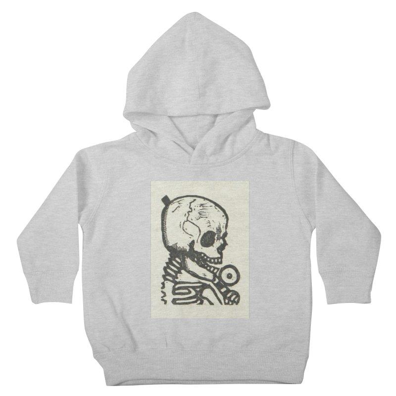 Skeleton Kids Toddler Pullover Hoody by RNF's Artist Shop