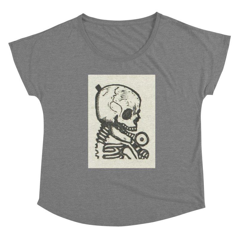 Skeleton Women's Scoop Neck by RNF's Artist Shop