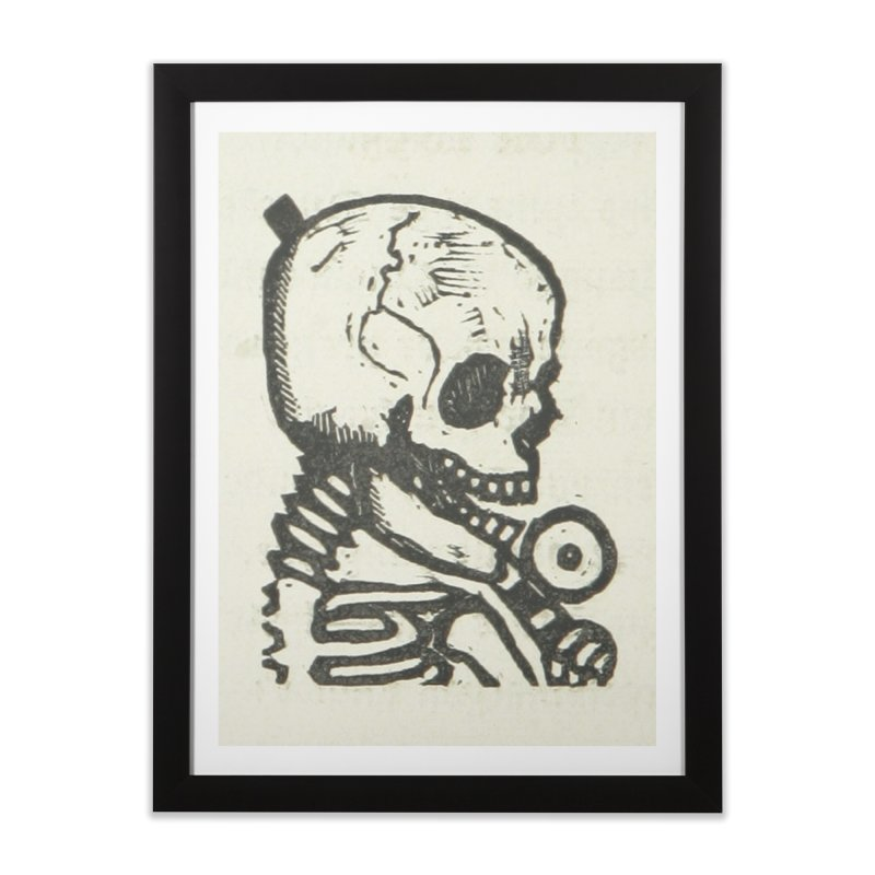 Skeleton Home Framed Fine Art Print by RNF's Artist Shop